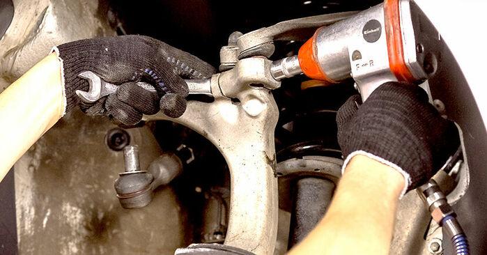 A4 Sedan (8E2, B6) 1.6 2001 Rolamento da Roda manual de substituição de oficina por si mesmo