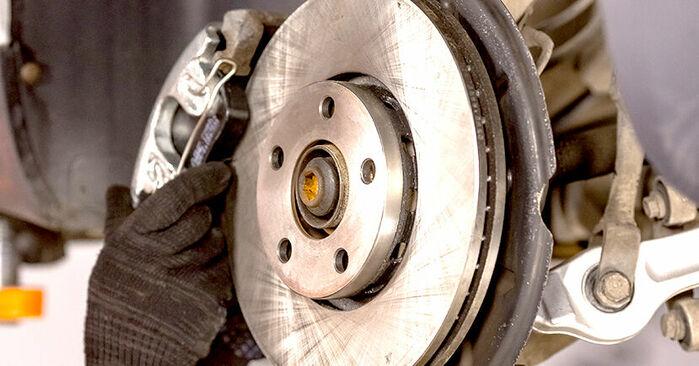 Como remover AUDI A4 1.6 2004 Rolamento da Roda - instruções online fáceis de seguir