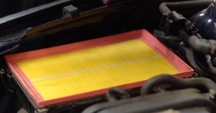 Opel Astra g f48 1.6 (F08, F48) 2000 Esitule pirn vahetamine: tasuta töökoja juhendid