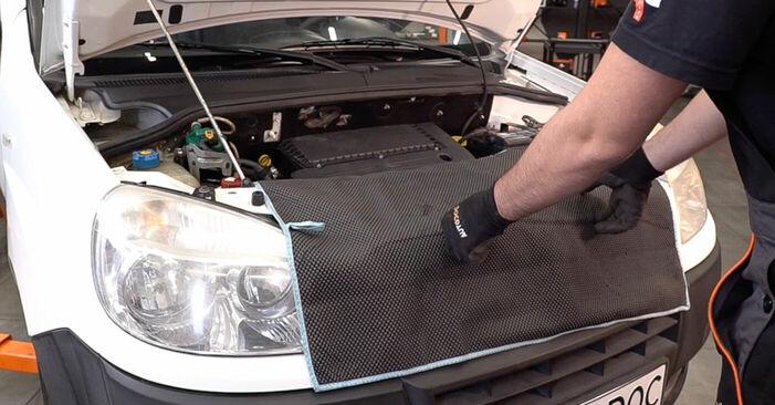 FIAT DOBLO 1.9 JTD Luftfilter ausbauen: Anweisungen und Video-Tutorials online