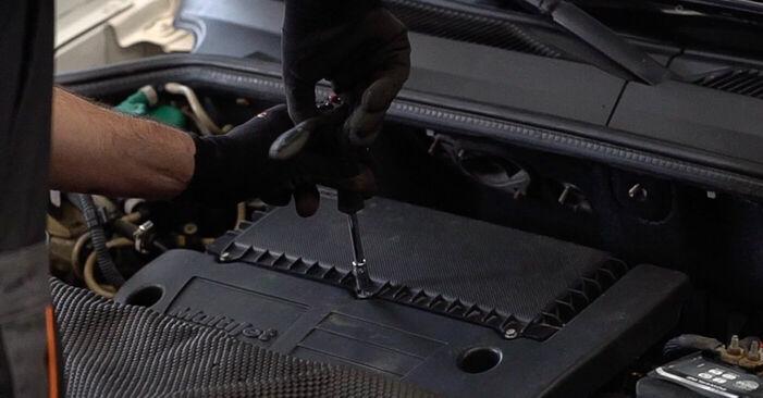 Luftfilter Fiat Doblo Cargo 1.9 D 2003 wechseln: Kostenlose Reparaturhandbücher
