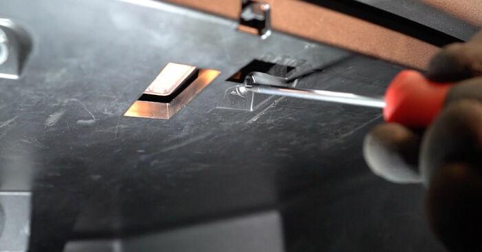 RENAULT MEGANE II Saloon (LM0/1_) 1.9 dCi 2003 Kabinovy filtr výměna: bezplatné návody z naší dílny