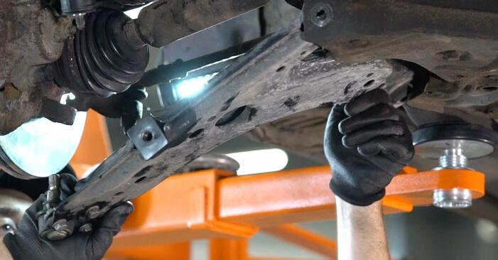A3 Hatchback (8L1) 1.8 1999 Control Arm DIY replacement workshop manual