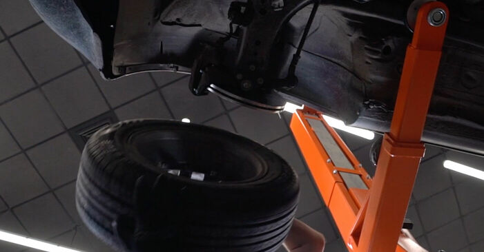 How to remove AUDI A3 1.8 2000 Control Arm - online easy-to-follow instructions