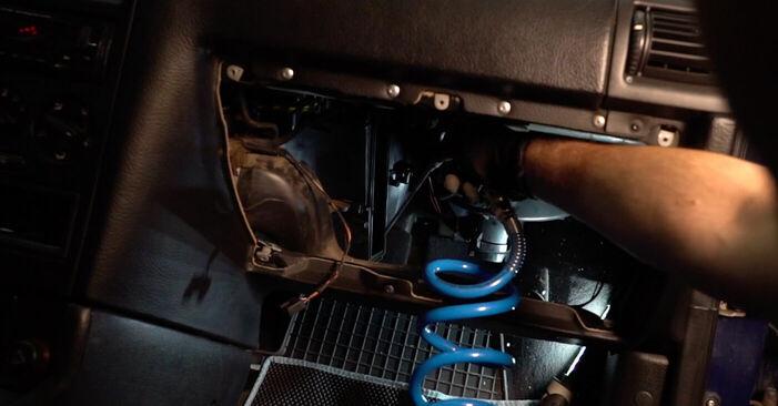 Cik ilgu laiku aizņem nomaiņa: Opel Astra g f48 2006 Salona filtrs - informatīva PDF rokasgrāmata