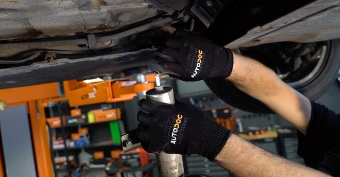 BMW 3 SERIES 318d 2.0 Kraftstofffilter ausbauen: Anweisungen und Video-Tutorials online