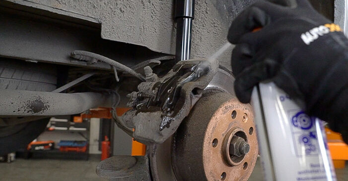How hard is it to do yourself: Brake Pads replacement on Mercedes W638 Minibus 113 2.0 (638.114, 638.194) 2002 - download illustrated guide