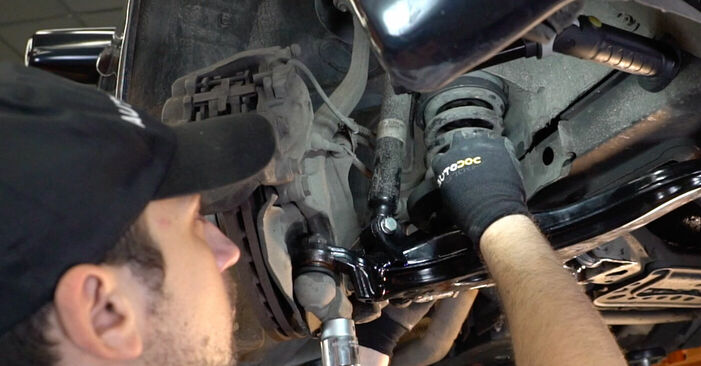 DIY replacement of Control Arm on MERCEDES-BENZ E-Class Saloon (W210) E 200 2.0 (210.035) 2000 is not an issue anymore with our step-by-step tutorial
