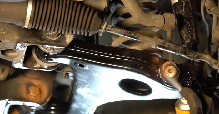 How to replace Control Arm on MERCEDES-BENZ E-Class Saloon (W210) 2000: download PDF manuals and video instructions