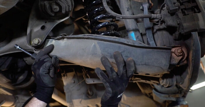How to replace MERCEDES-BENZ E-Class Saloon (W210) E 300 3.0 Turbo Diesel (210.025) 1996 Anti Roll Bar Links - step-by-step manuals and video guides