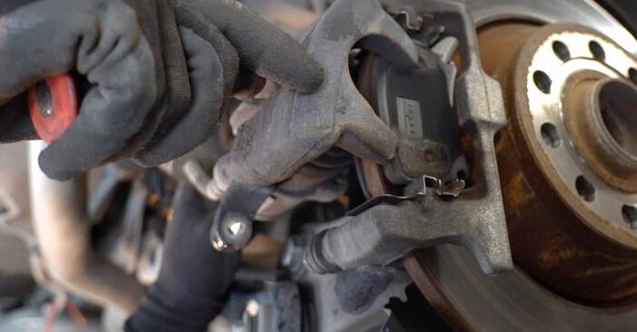 Kui kaua kulub välja vahetamisele: sõiduki Audi A6 4f2 2004 Piduriklotsid - informatiivne kasutusjuhend PDF vormis