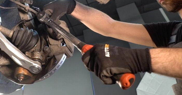 Reemplace Discos de Freno en un Audi A6 4f2 2006 3.0 TDI quattro usted mismo