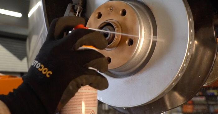 Cómo cambiar Discos de Freno en un Audi A6 4f2 2004 - Manuales en PDF y en video gratuitos