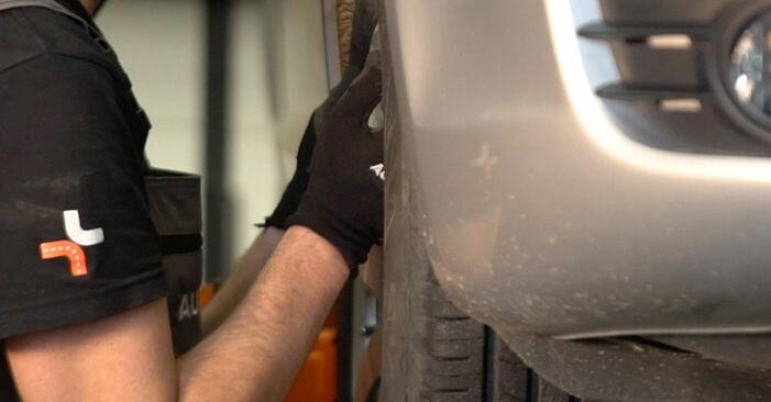 AUDI A6 2.7 TDI Bremsbeläge ausbauen: Anweisungen und Video-Tutorials online
