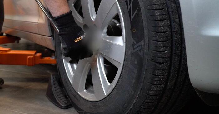 Bremsbeläge Audi A6 4f2 2.4 2006 wechseln: Kostenlose Reparaturhandbücher