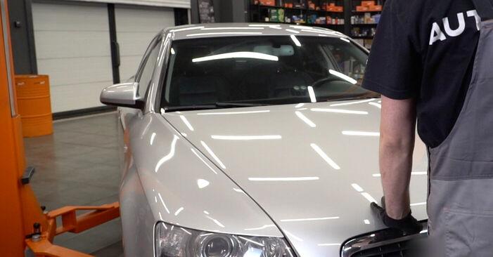 Schritt-für-Schritt-Anleitung zum selbstständigen Wechsel von Audi A6 4f2 2009 2.0 TFSI Bremsbeläge