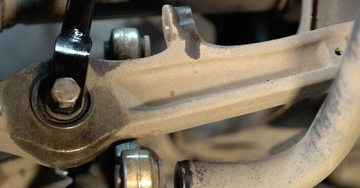Kui kaua kulub välja vahetamisele: sõiduki Audi A6 4f2 2004 Stabilisaatori otsavarras - informatiivne kasutusjuhend PDF vormis
