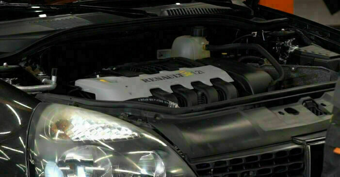 Wymiana Filtr oleju Renault Clio 2 1998 - darmowe instrukcje PDF i wideo
