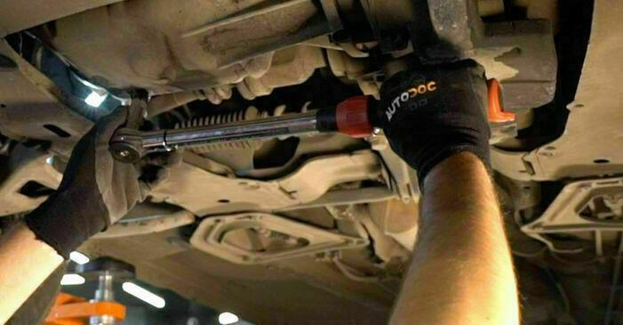 Jak wymienić Filtr oleju w RENAULT CLIO II (BB0/1/2_, CB0/1/2_) 2003: pobierz instrukcje PDF i instrukcje wideo