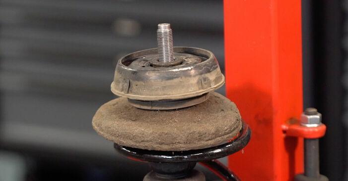 Recommandations étape par étape pour remplacer soi-même Renault Clio 2 2011 1.4 Amortisseurs