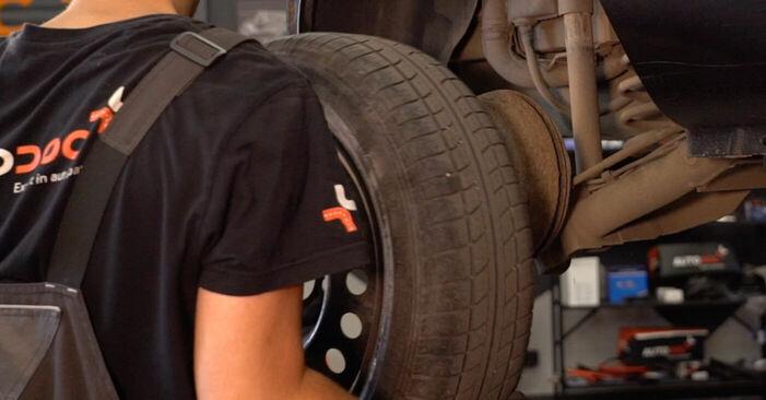 RENAULT CLIO 1.4 2002 Kerékcsapágy eltávolítás - online könnyen követhető utasítások