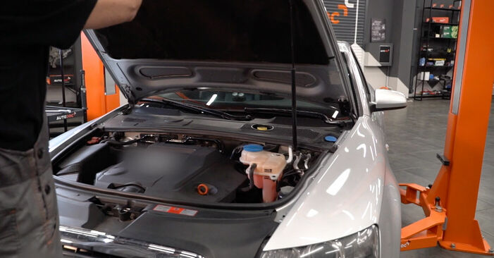 Wie Stoßdämpfer Audi A6 4f2 3.0 TDI quattro 2004 tauschen - Kostenlose PDF- und Videoanleitungen