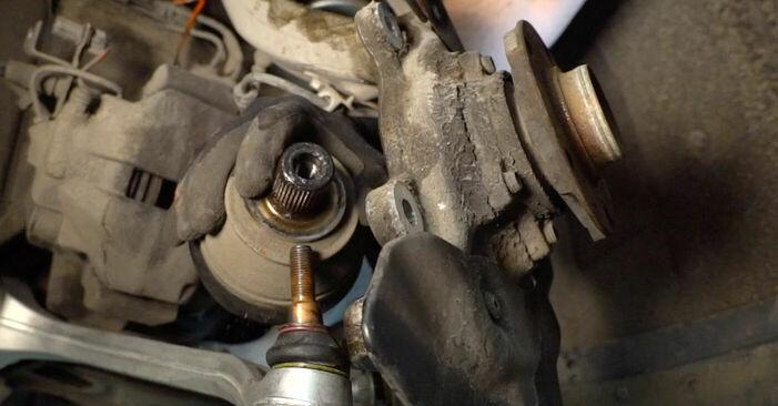 Austauschen Anleitung Radlager am Audi A6 4f2 2006 3.0 TDI quattro selbst