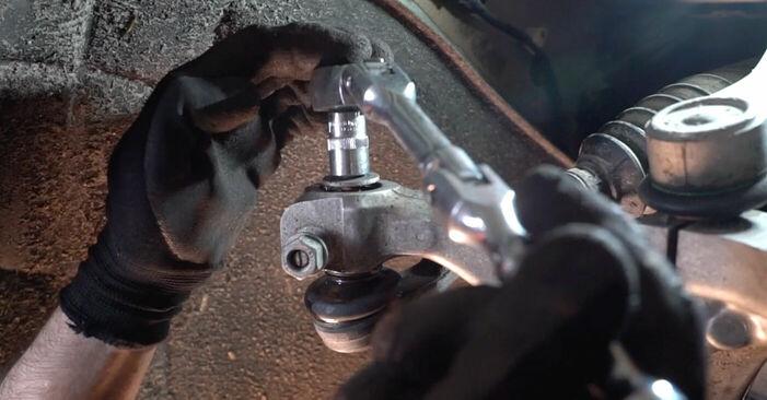 Wie Radlager AUDI A6 Limousine (4F2, C6) 2.0 TDI 2005 austauschen - Schrittweise Handbücher und Videoanleitungen
