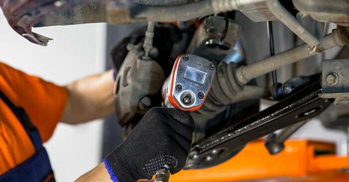 Combien de temps dure le remplacement : Roulement De Roues sur Ford Fiesta V jh jd 2009 - manuel PDF informatif