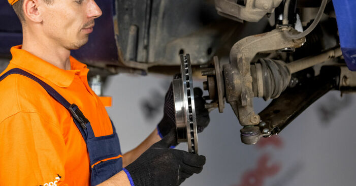 Replacing Wheel Bearing on Ford Fiesta V jh jd 2001 1.4 TDCi by yourself