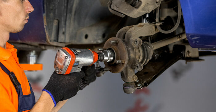 How to change Wheel Bearing on FORD Fiesta Mk5 Hatchback (JH1, JD1, JH3, JD3) 2003 - tips and tricks