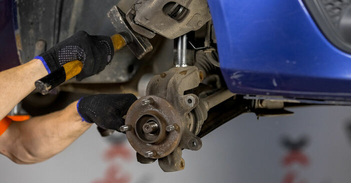 How to replace Wheel Bearing on FORD Fiesta Mk5 Hatchback (JH1, JD1, JH3, JD3) 2006: download PDF manuals and video instructions