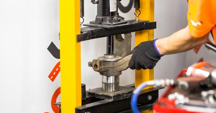 FORD FIESTA 1.4 16V Radlager ausbauen: Anweisungen und Video-Tutorials online