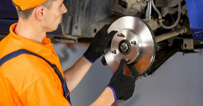 Radlager Ford Fiesta V jh jd 1.3 2003 wechseln: Kostenlose Reparaturhandbücher