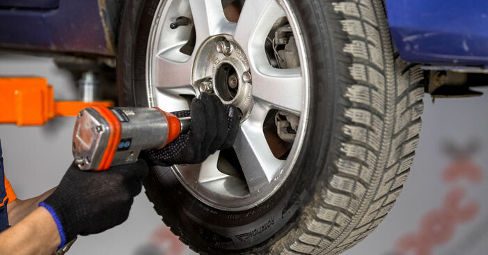 Fiesta Mk5 Hatchback (JH1, JD1, JH3, JD3) ST150 2.0 2002 Wheel Bearing DIY replacement workshop manual