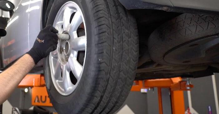 Wie MINI MINI 1.4 One D 2005 Bremsscheiben ausbauen - Einfach zu verstehende Anleitungen online