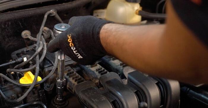 Zündkerzen Ihres Renault Clio 2 1.2 2006 selbst Wechsel - Gratis Tutorial