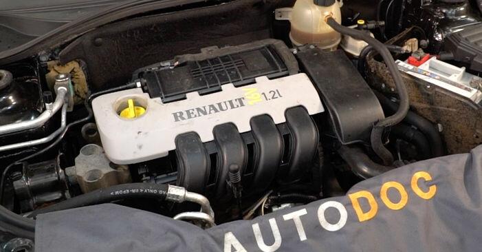 Tausch Tutorial Zündkerzen am RENAULT CLIO II (BB0/1/2_, CB0/1/2_) 2010 wechselt - Tipps und Tricks