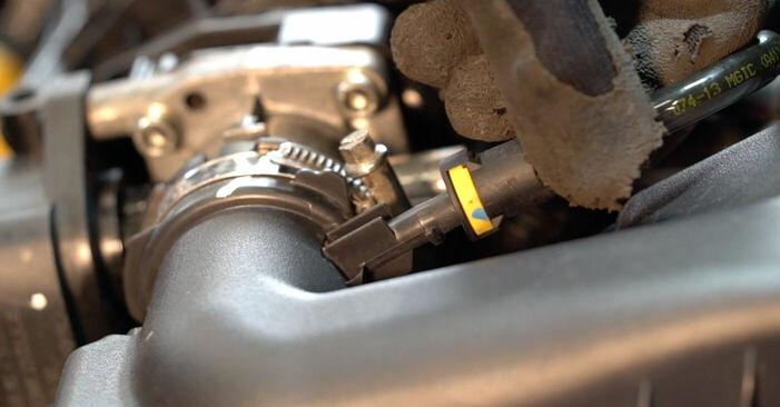 Peugeot 208 1 1.2 2014 Filtre à Air remplacement : manuels d'atelier gratuits