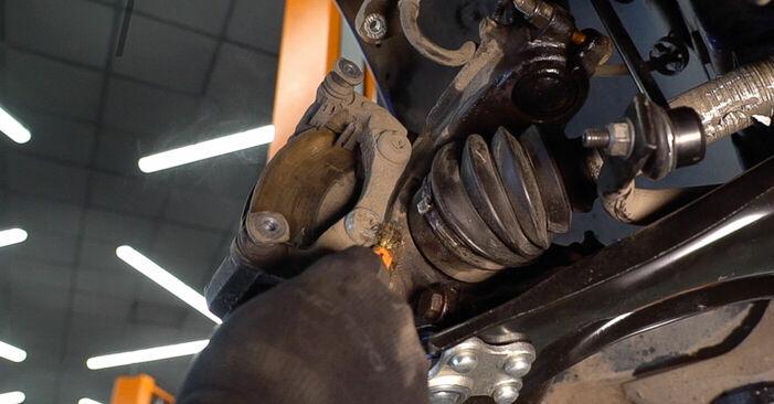 Trin-for-trin anbefalinger for gør-det-selv udskiftning på Peugeot 208 1 2016 1.0 Bremseskiver