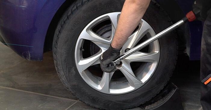 Come cambiare Ammortizzatori su Peugeot 208 1 2012 - manuali PDF e video gratuiti