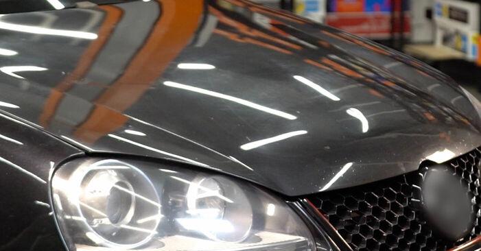Wie VW GOLF 2.0 TDI 16V 2007 Zündkerzen ausbauen - Einfach zu verstehende Anleitungen online