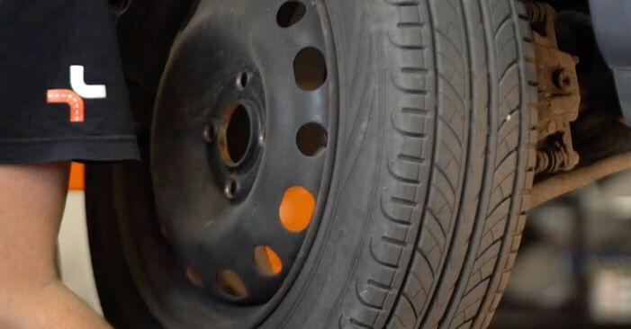 Stoßdämpfer Ihres Opel Corsa C 1.4 Twinport (F08, F68) 2008 selbst Wechsel - Gratis Tutorial