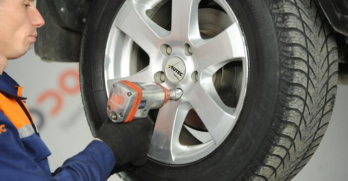 Koppelstange Nissan X Trail t30 2.5 4x4 2003 wechseln: Kostenlose Reparaturhandbücher
