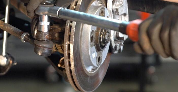 Spurstangenkopf Peugeot 206 cc 2d 1.6 HDi 110 2000 wechseln: Kostenlose Reparaturhandbücher