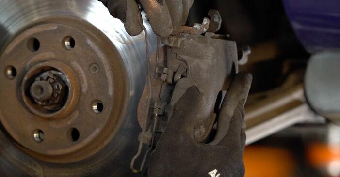 Astra G CC (T98) 1.7 DTI 16V (F08, F48) 2009 Bremžu diski patstāvīgas nomaiņas remonta rokasgrāmata