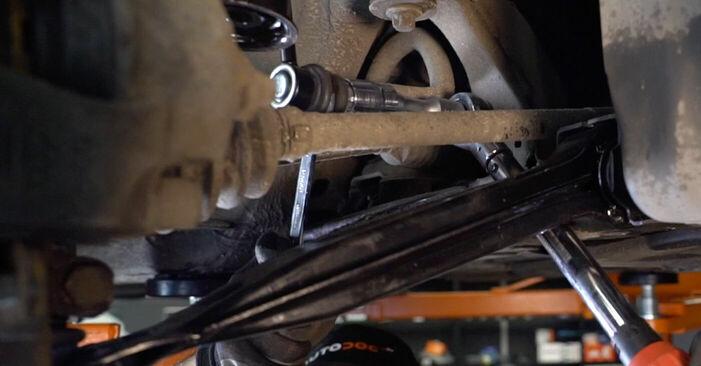 Austauschen Anleitung Koppelstange am Opel Astra g f48 2008 1.6 16V (F08, F48) selbst