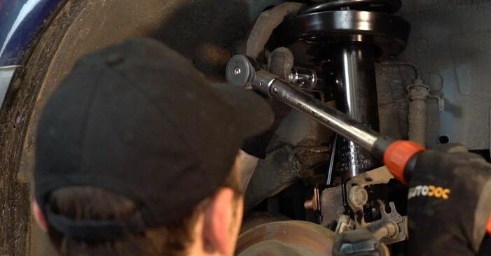 ASTRA G Hatchback (F48_, F08_) 1.7 DTI 16V (F08, F48) 2009 1.6 (F08, F48) Koppelstange - Handbuch zum Wechsel und der Reparatur eigenständig