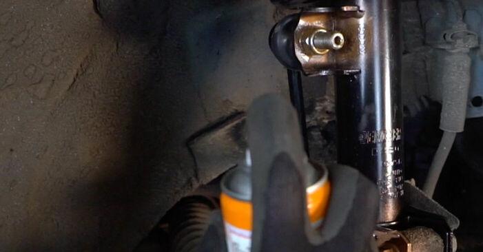 Tausch Tutorial Koppelstange am OPEL ASTRA G Hatchback (F48_, F08_) 1998 wechselt - Tipps und Tricks