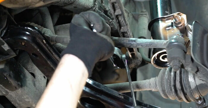 Koppelstange Ihres Opel Astra g f48 1.6 16V (F08, F48) 2006 selbst Wechsel - Gratis Tutorial